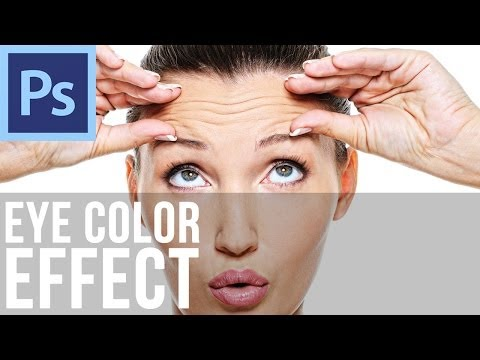 Adobe Photoshop CS6 - Changing Eye Color
