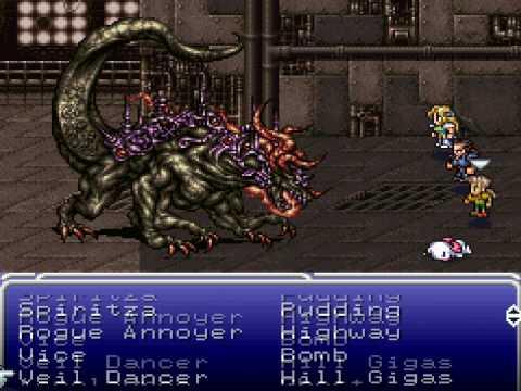 Final Fantasy VI - Ultima Buster