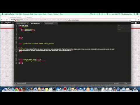JQuery TuTorial # 7 How to Replace Text or HTML With JQuery for Beginners