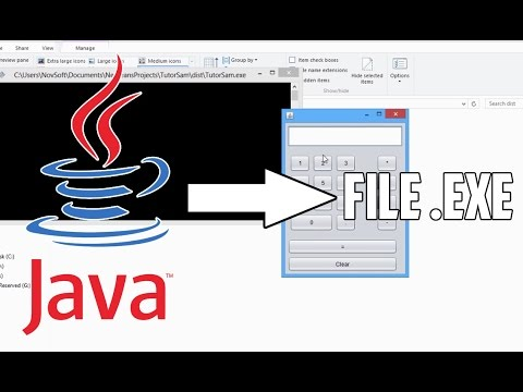 Tutorial cara mengubah/convert file Net Beans dari Jar/Java ke Exe