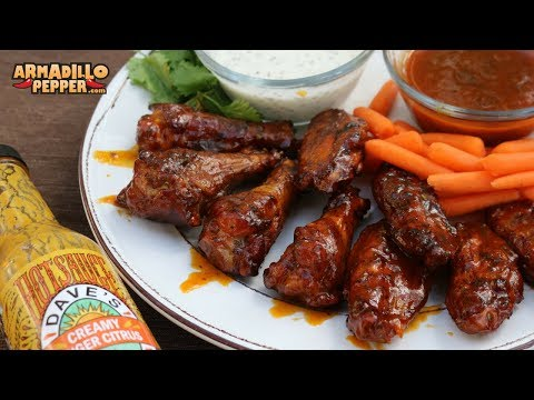 Citrus-Ginger & Vodka Chicken Wings on the Pit Barrel Cooker   How to Make