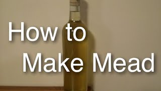 How To Brew Simple Mead At Home Honey Wine With Cinnamon Clove Easy A