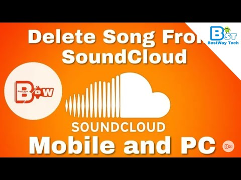 How to delete song from  SoundCloud on any device phone