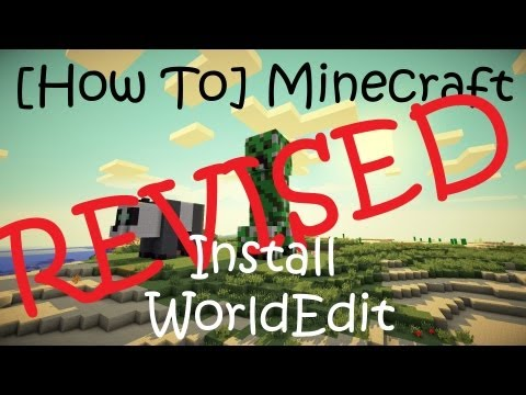 [How To] Install WorldEdit on Minecraft 1.5