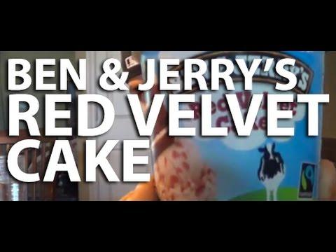 REVIEW: Ben & Jerry's Red Velvet Cake