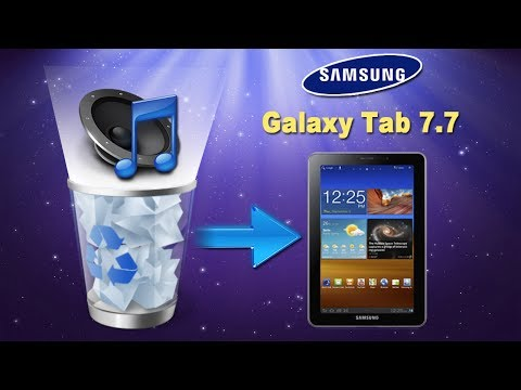 [Samsung Tablet]: How Can I Recover Deleted Music or Audio Files from Galaxy Tablet 7.7?