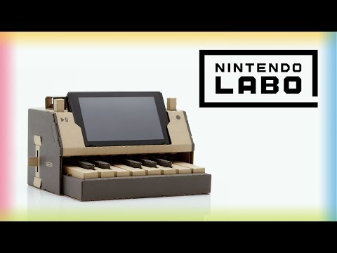 Nintendo Labo : The DIY cardboard accessory for Switch