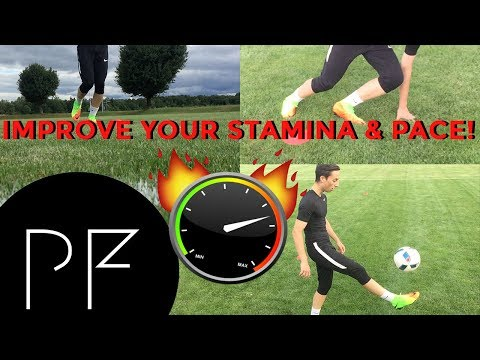 IMPROVE Your STAMINA ! Get FASTER in Soccer!