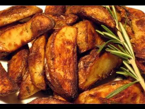 Roasted Rosemary & Garlic Potatoes Recipe - Laura Vitale