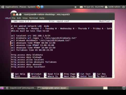 Squid Proxy Server in Ubuntu