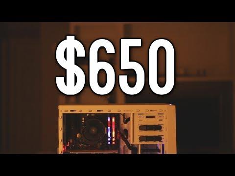 The $650 RGB Budget Gaming PC for June 2017 - Ryzen R5 1400 + NVIDIA GTX 1060!