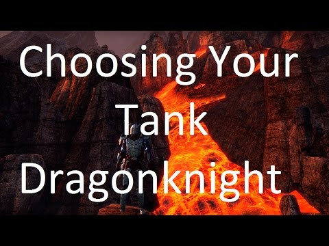 [ESO] Choosing Your Tank: Dragonknight