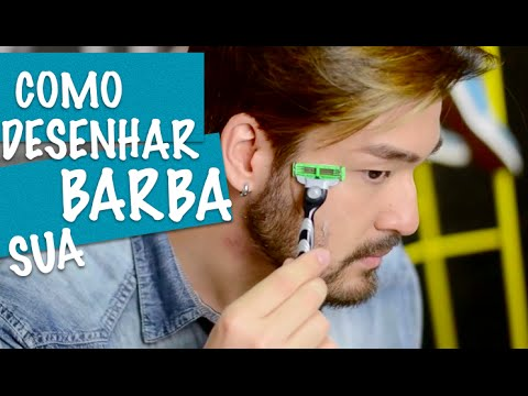 COMO DESENHAR SUA BARBA por Fabiano Okabayashi