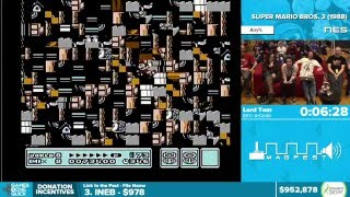 TASBot plays Super Mario Bros. 3 by Lord Tom - Awesome Games Done Quick 2016 - Part 155