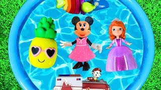 Learn Colors with Minnie Mouse, Paw Patrol, Sofia The First, Nella and Pj Masks