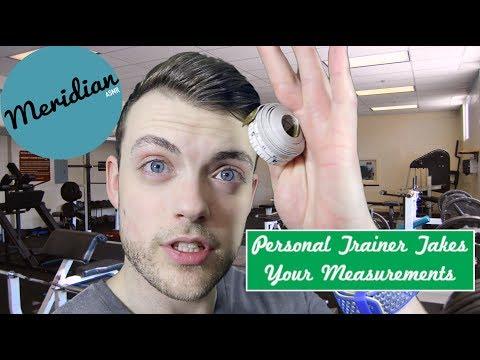 ASMR - PT TAKING MEASUREMENTS (Tape measure & Callipers)