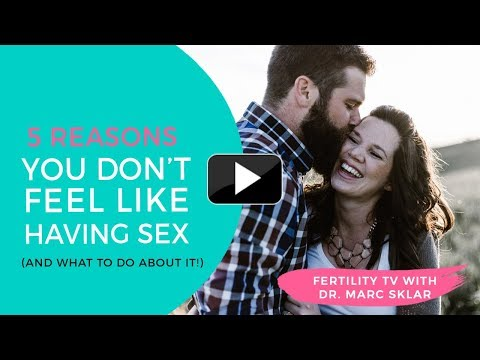 5 Top Causes you don't feel like having sex