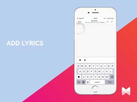 How to Add a Lyrics from the iOS Musixmatch app?