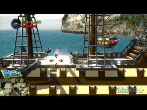 LEGO Pirates of the Caribbean Complete Free Play Walkthrough - Final Complete Pass - Pt 3