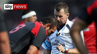 Nigel Owens reveals his experience of homophobia