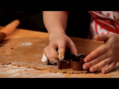 How to Make Gingerbread Cookie Dough | Christmas Cookies