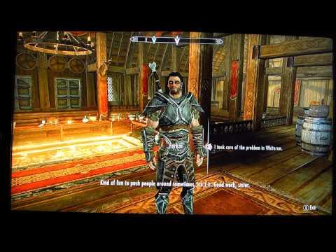Skyrim: Farkas and Vilkas fear Aela