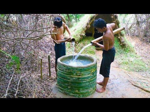 Build Water Tank Using Bamboo