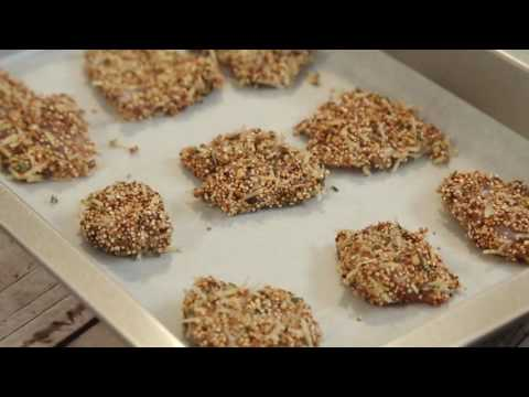 How to make Quinoa Breaded Chicken Stackers