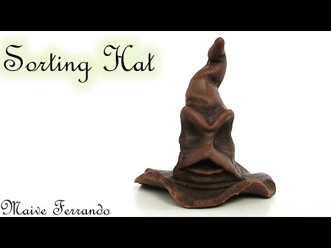 Polymer Clay Harry Potter's Sorting Hat TUTORIAL | Maive Ferrando