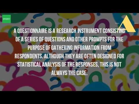 What Is A Questionnaire In Research?