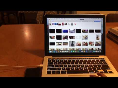 How to transfer photos from iphone to macbook in 1 minute