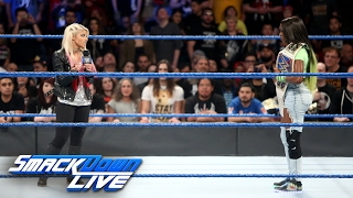 Alexa Bliss interrupts injured SmackDown Women