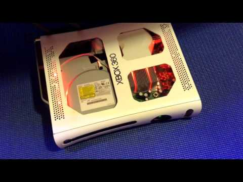 Modded Xbox 360: LEDs and Flashed Disc Drive ATM Ep: 2