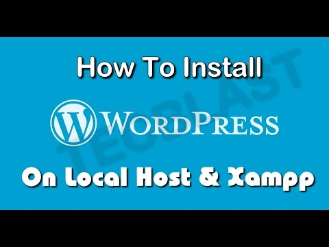 Create WordPress Website on a localhost using Xampp (full Guide step by step)