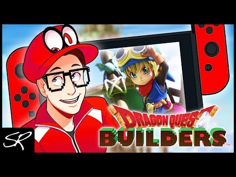 Dragon Quest Builders Nintendo Switch Gameplay | This Game is ADDICTING!