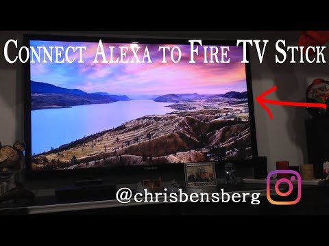 How To Connect Amazon Alexa Device To Your Fire TV Stick For Voice Control SO COOL!