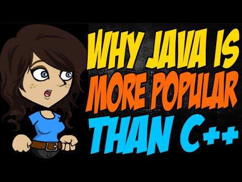 Why Java is More Popular than C++