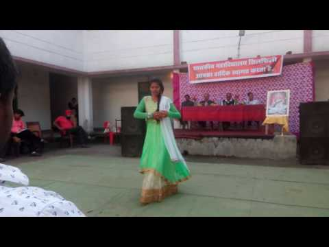 Silphili college annual function Dance video