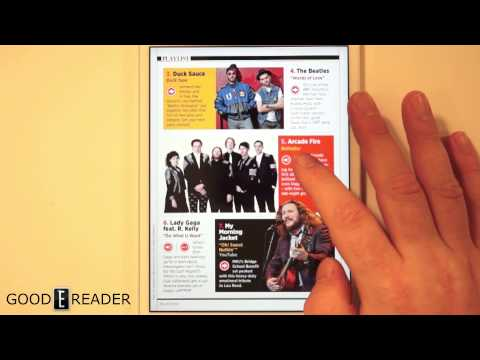 Reading Digital Magazines on the iPad Mini with Retina
