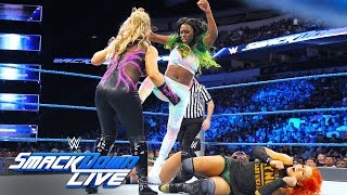 Becky Lynch & Naomi vs. Natalya & Alexa Bliss: SmackDown Live, Aug. 30, 2016
