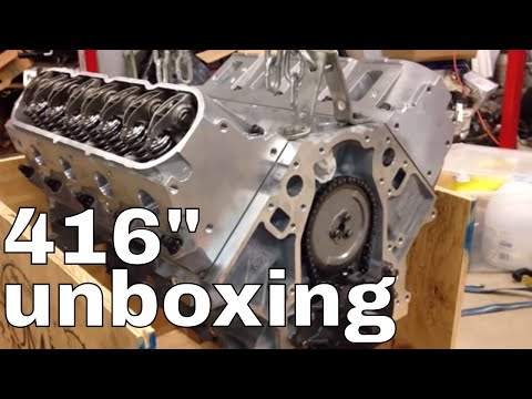 Thompson Motorsports 416 ls3 stroker uncrated