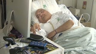Brazilian polio survivor has lived 43 years in a hospital