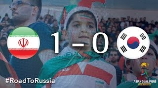 Iran vs Korea Republic (Asian Qualifiers - Road to Russia)