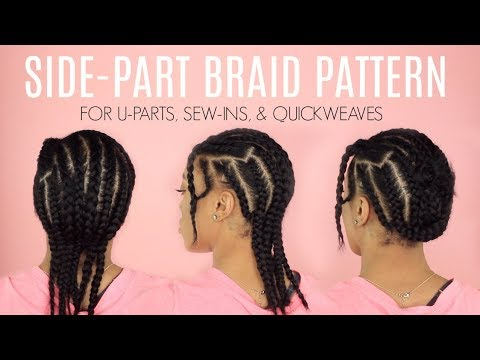 BRAID PATTERN FOR NATURAL WEAVES,WIGS, CROTCHET BRAIDS