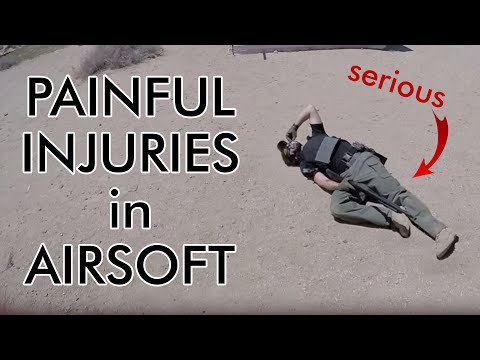 AIRSOFT TOP most PAINFULL Accidents - NOVRITSCH