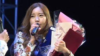 박수정/꽃길(윤수현) 제6회삼천포아가씨가요제 대상수상자