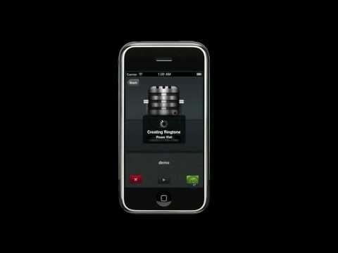 Create Ringtones! iPhone App Promo