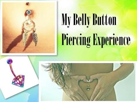 ♡My Belly Button Piercing Experience♡