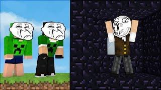 Minecraft Épico #8: A SALA SECRETA ANTI TROLLAGEM!