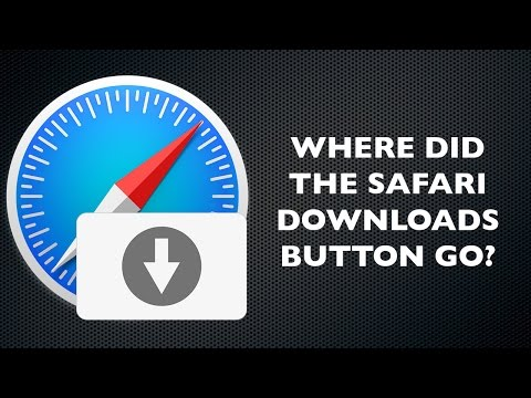 How to Get Your Safari Downloads Button Back